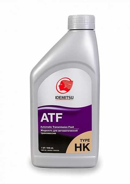 Трансмиссионное масло для Hyundai / Kia IDEMITSU ATF TYPE-HК (SP-III)