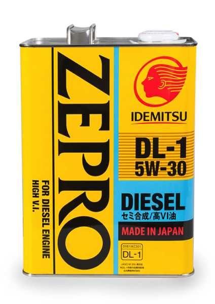 Моторное масло IDEMITSU ZEPRO DIESEL DL-1 5W30