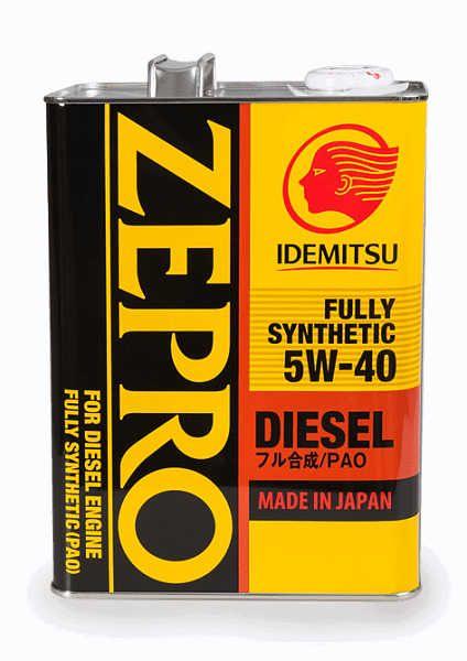 Моторное масло IDEMITSU ZEPRO DIESEL 5W40
